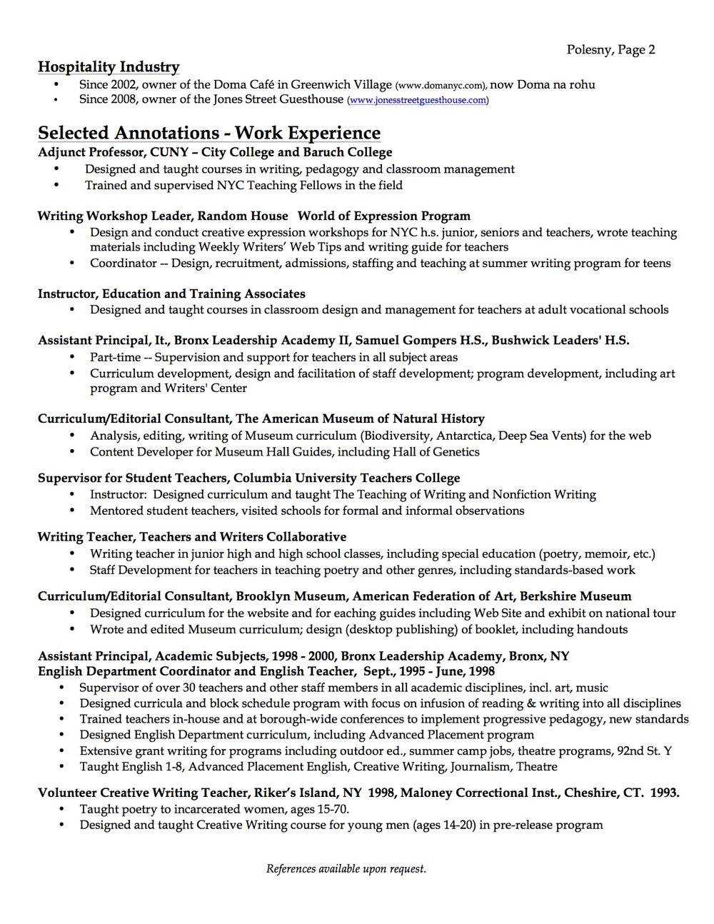 example of correctional nurse cv
