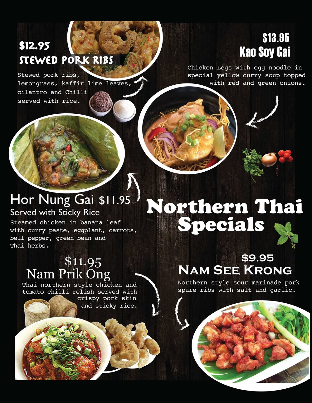 Northern Thai Specials -