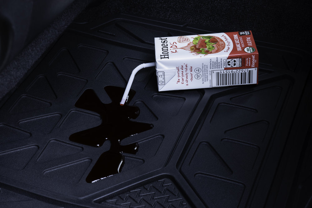 Armor All Floor Mats - Juice Spill