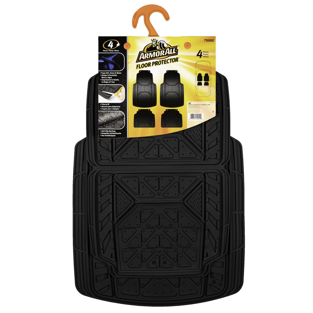 Armor All Floor Mats - Packaging Front (White Background)