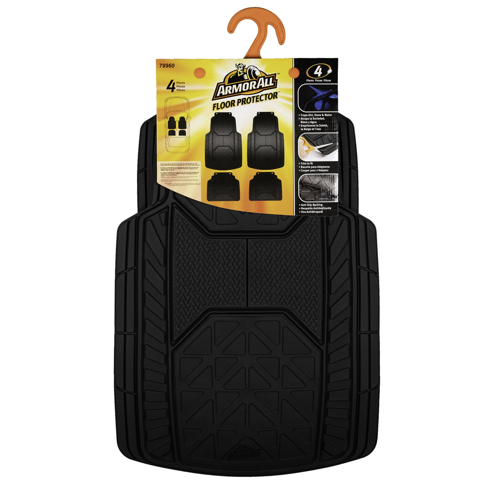 Armor All Floor Mats - Packaging Back (White Background)