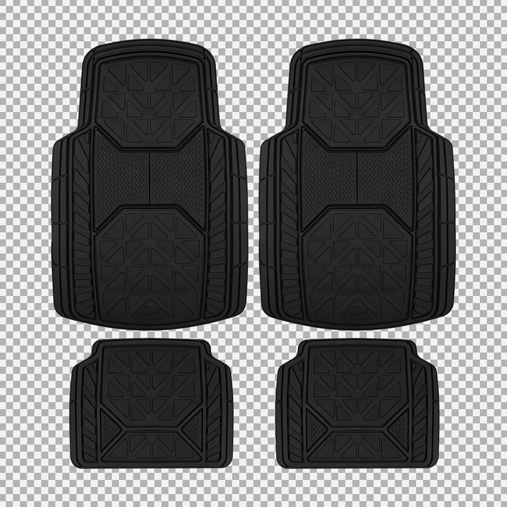 Armor All Floor Mats - Full Set (Transparent Background)