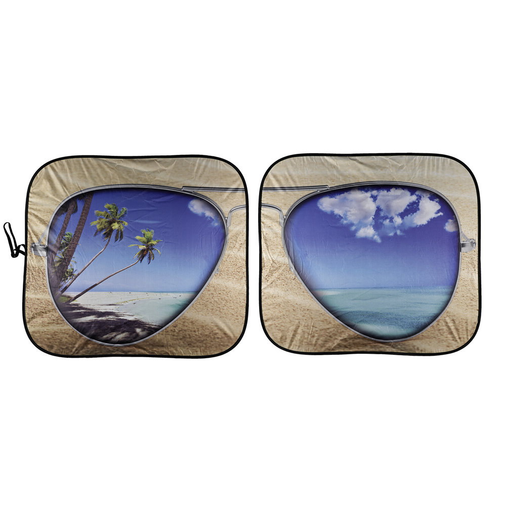 Beach Bum Solar Shield - Pair (White Background)
