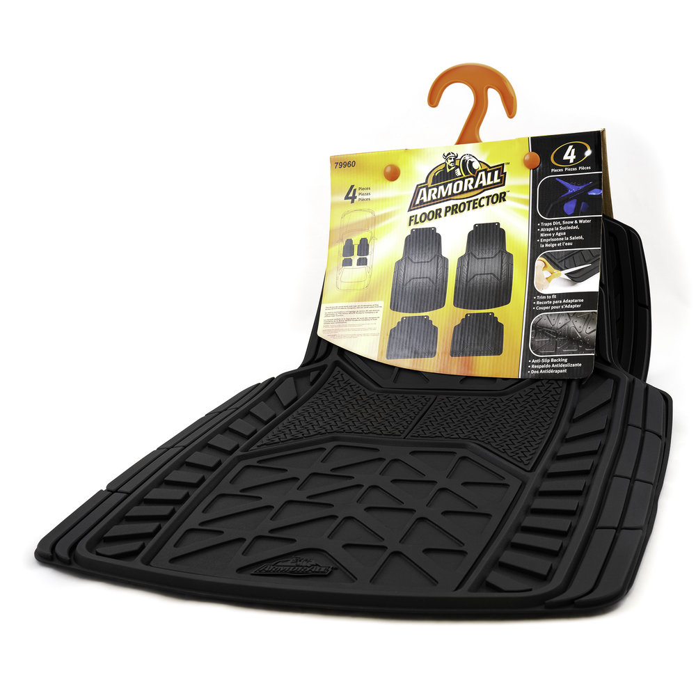 Armor All Floor Mats - Packaging Front Three Quarter View