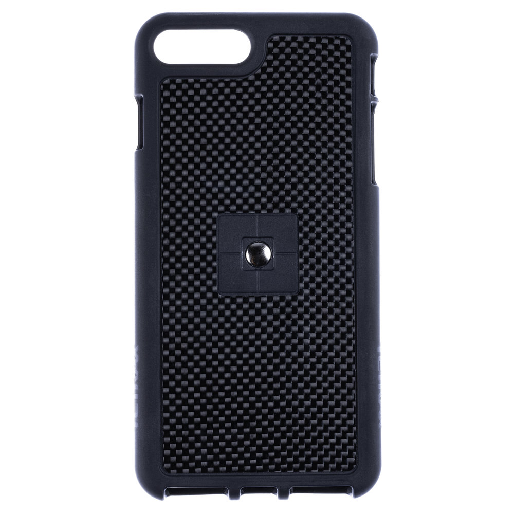 iPhone 8 Plus Carbon Fibre Case with Clip