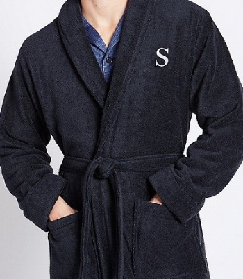 Find your personalised robe from Marks & Spencer  here