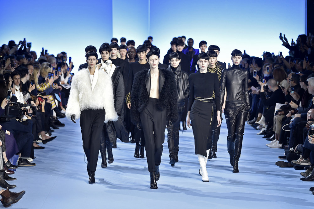 Haider Ackerman's Fall collection finale at Paris Fashion Week
