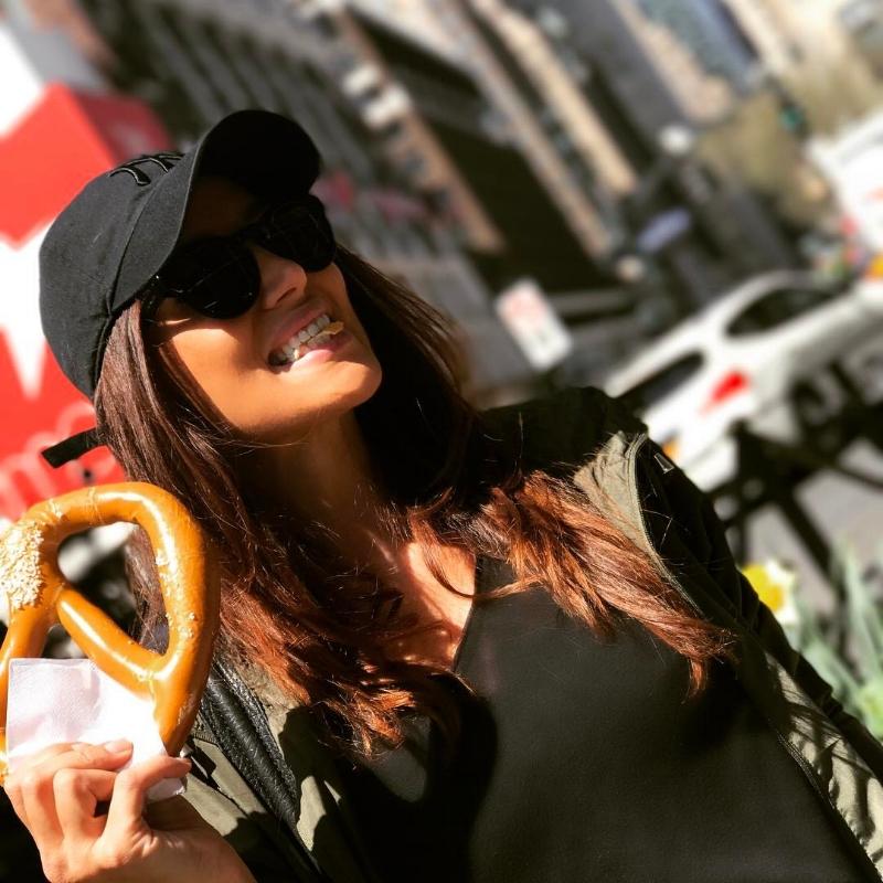 I went crazy over the gigantic pretzels served on every street corner! So good.