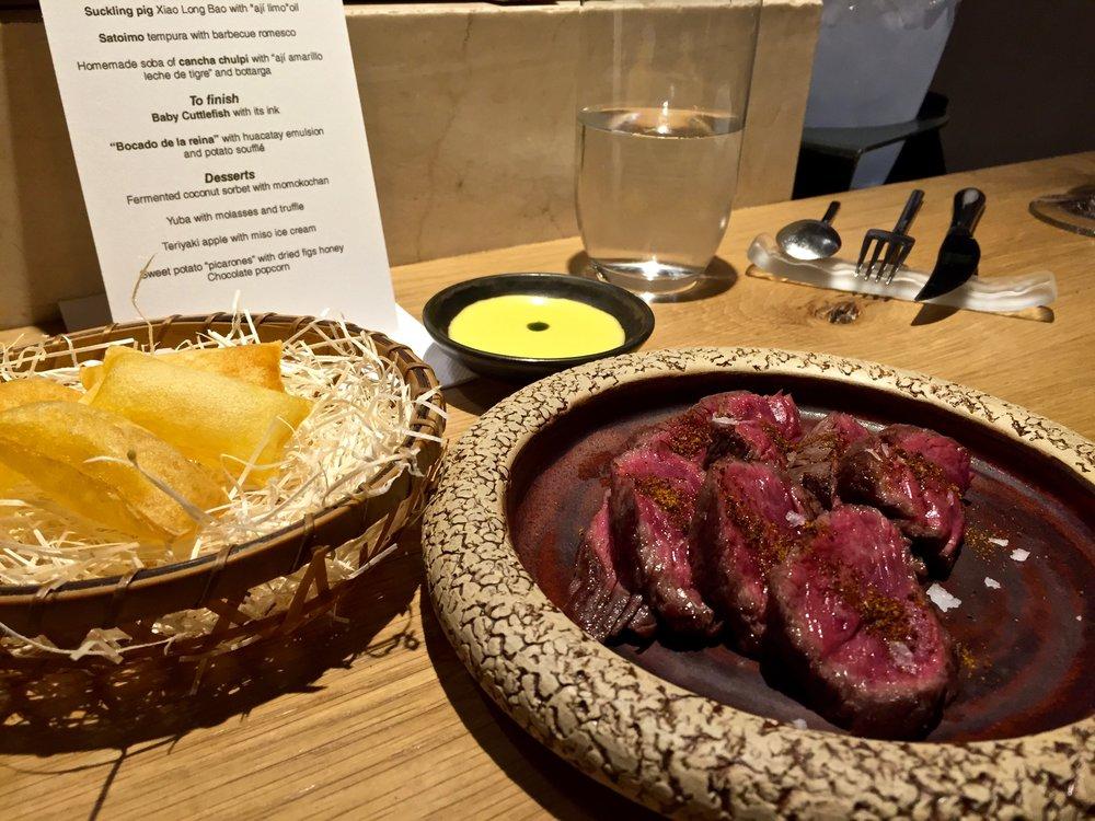 Steak at Pakta