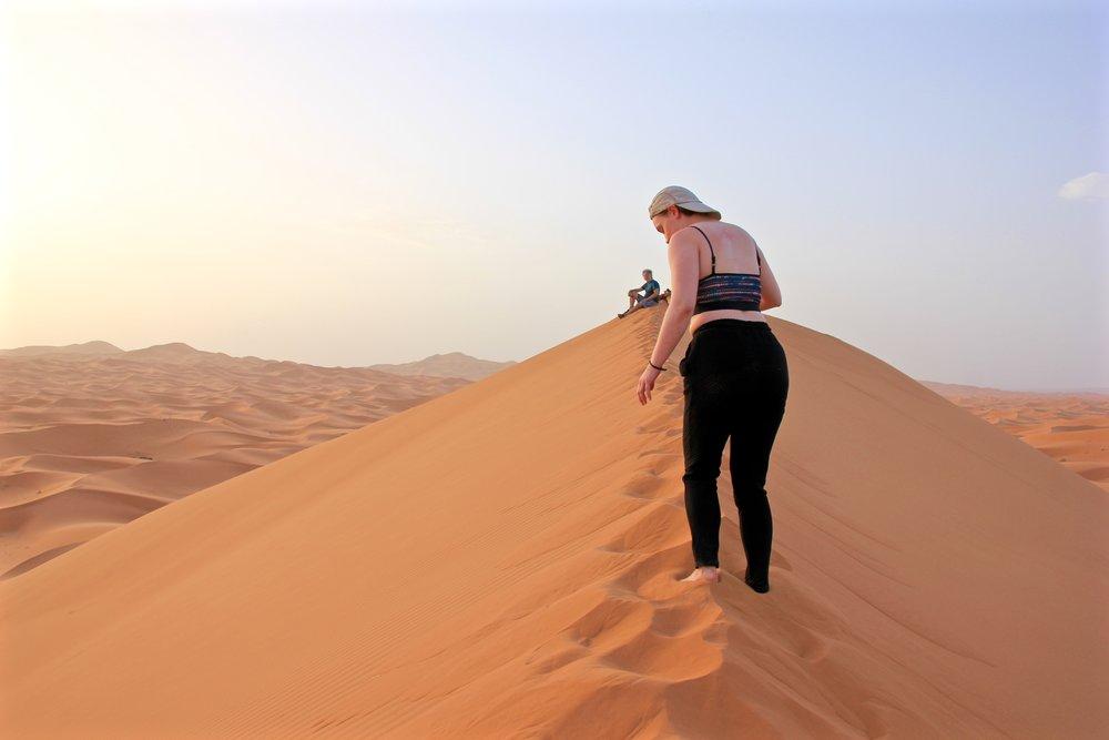 Moroccan Sahara Desert (c) when i've got time