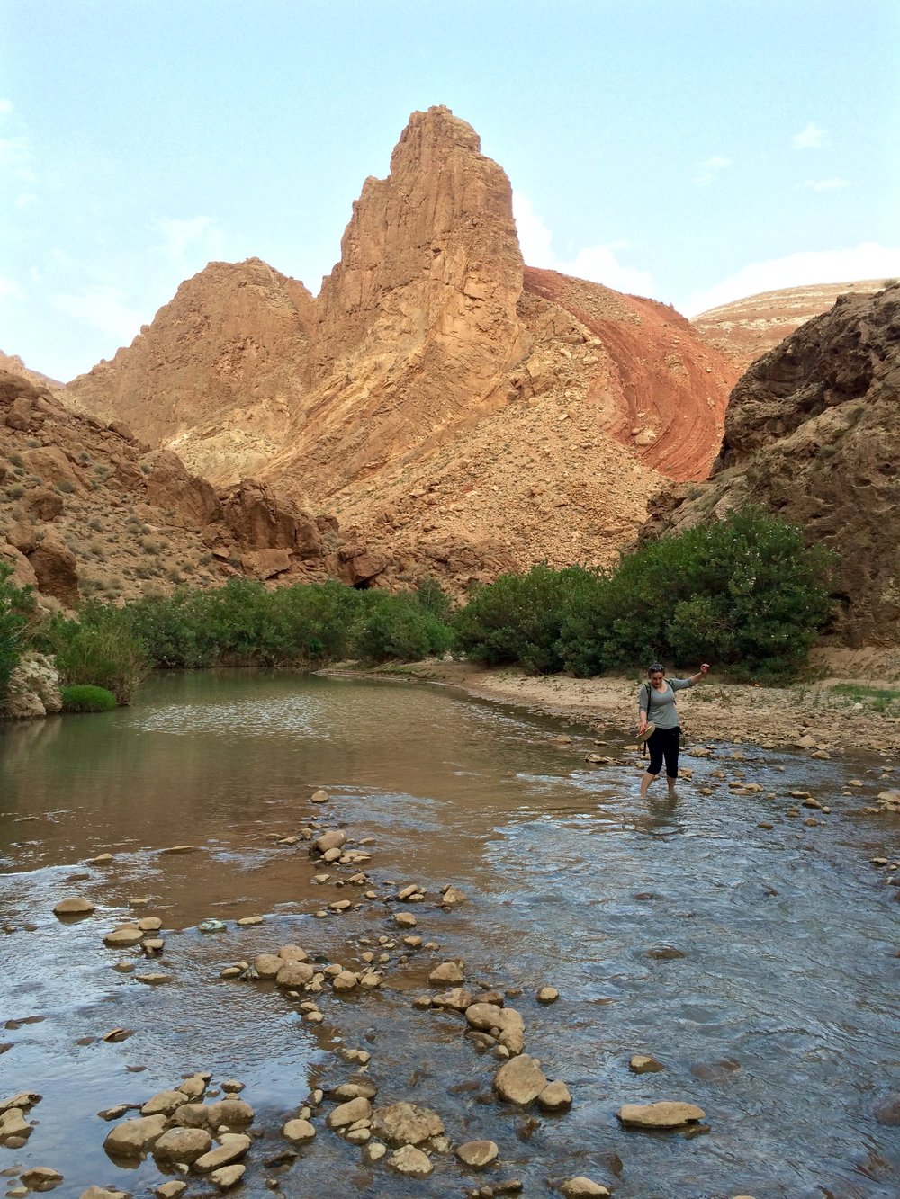 Hiking through the Dades Valley