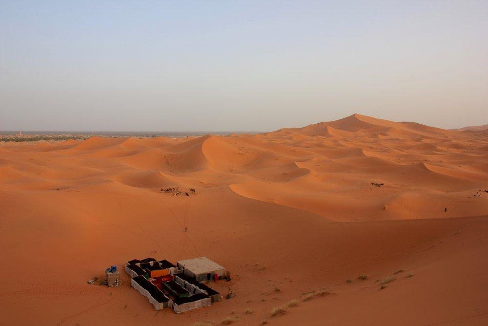 Saharan Desert Berber Camp