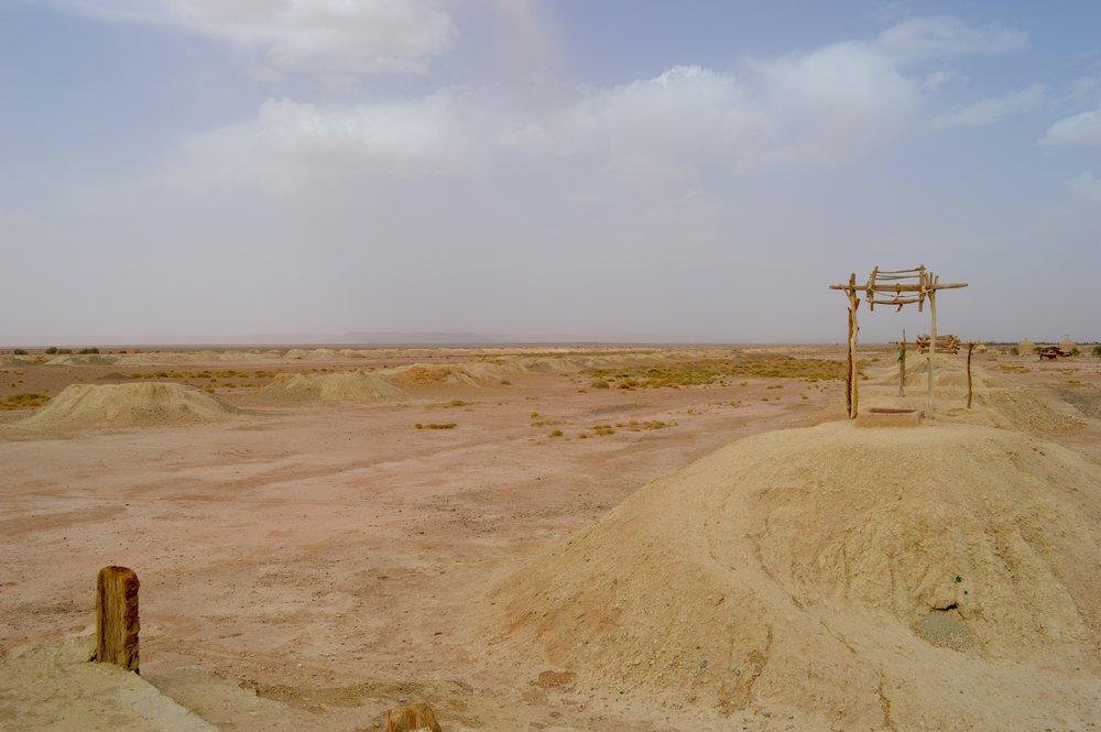 Wells in the Black Desert