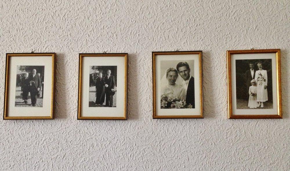 Oma & Opa on their wedding - 3rd photo