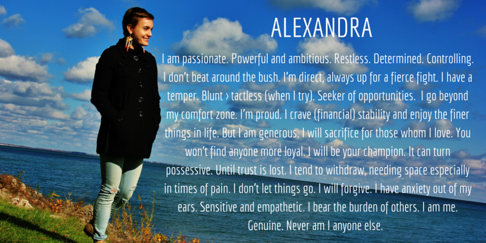 Alexandra Meaning (c) when i've got time
