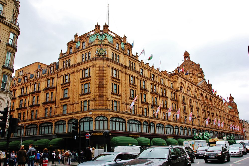 Harrods (c) when i've got time
