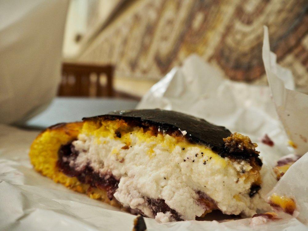 Pasticceria Boccione ricotta e visciole crostata (Ricotta & Sour Cherry Tart).jpg