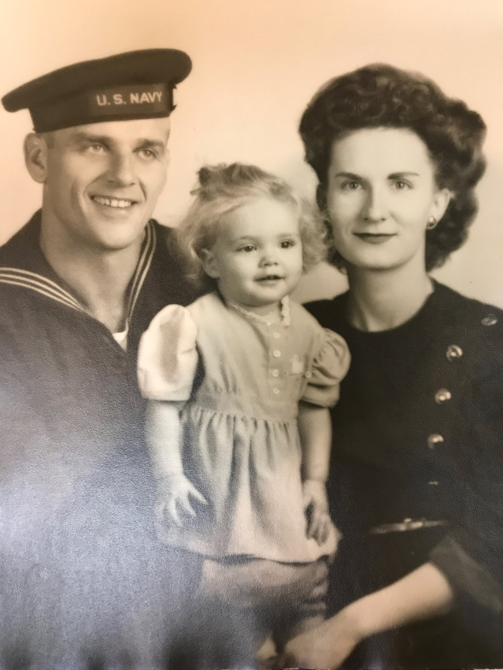 Grandma & Grandpa in the 1940s