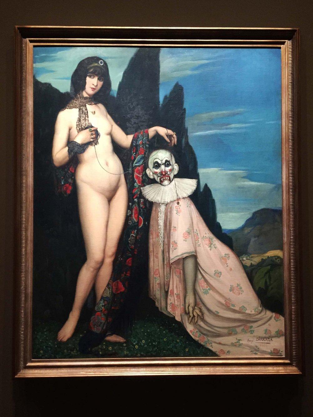 La Femme et le Pantin   |Ángel Zárraga (1909)