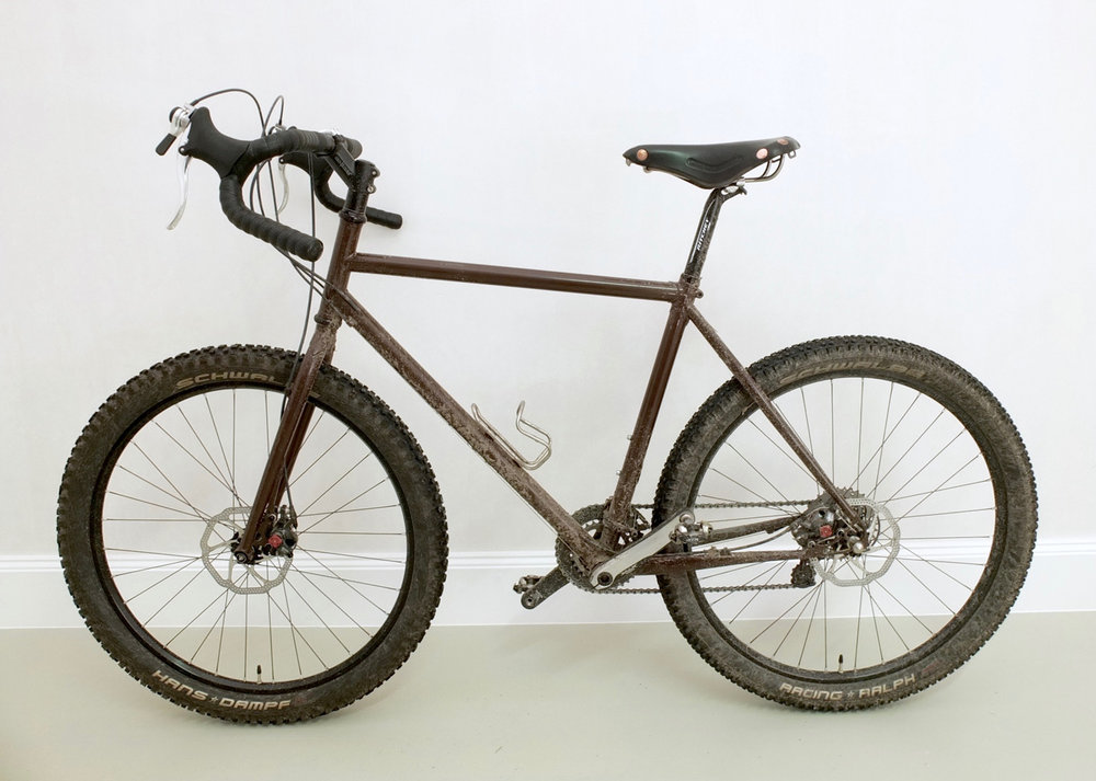 "The very first size S prototype in 2012, made for 26"" wheels"
