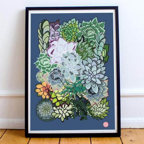 Design By Fish Succulent