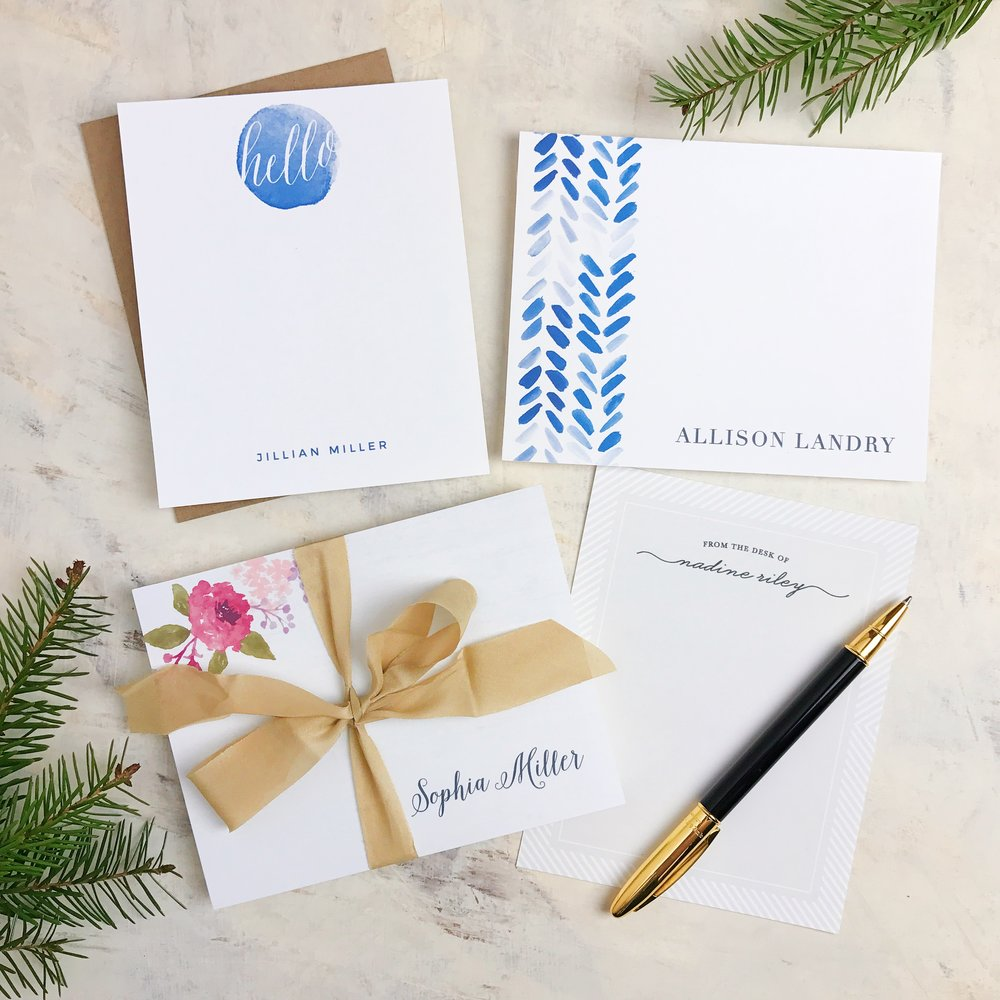 Classy and chic... just how I like my office stationery!
