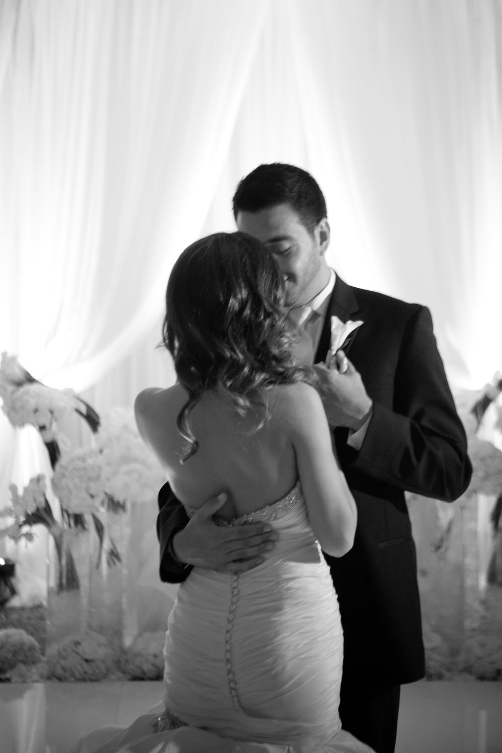 First dance on wedding day