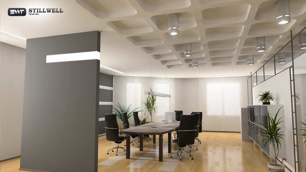 Renovation of offices in New York. Stillwell team Inc.