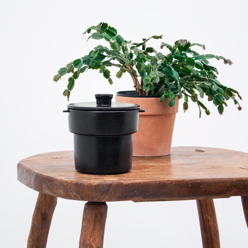 Bouchee double pot noir