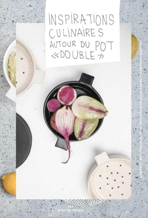 Bouchee double pot rouge
