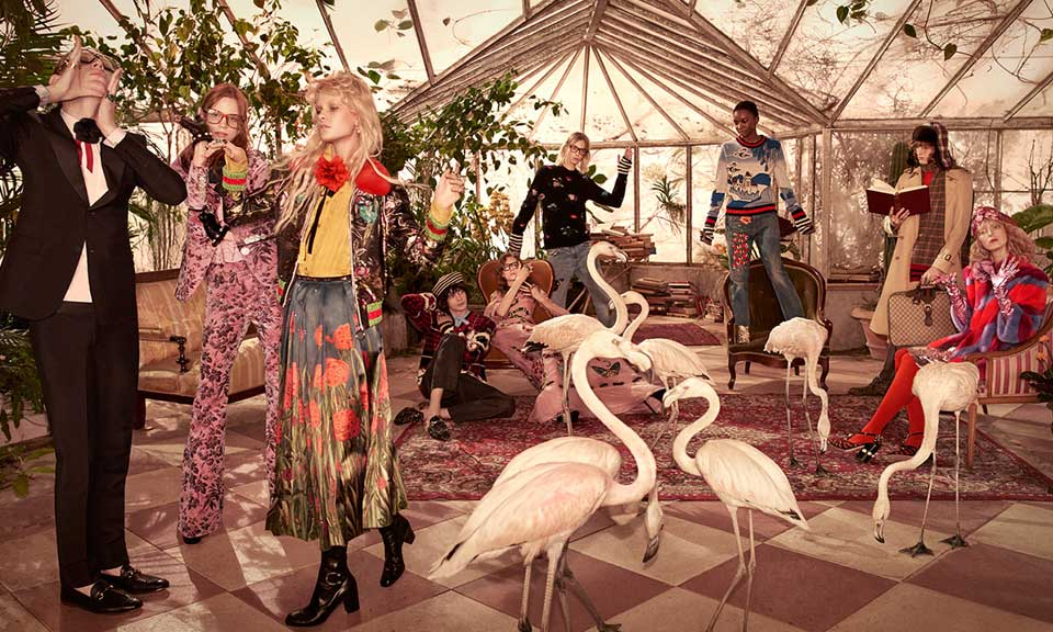 Gucci Pre-Fall 2016 by   Glen Luchford