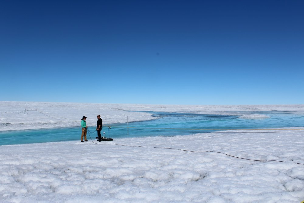 Supraglacial river research on the Greenland Ice Sheet