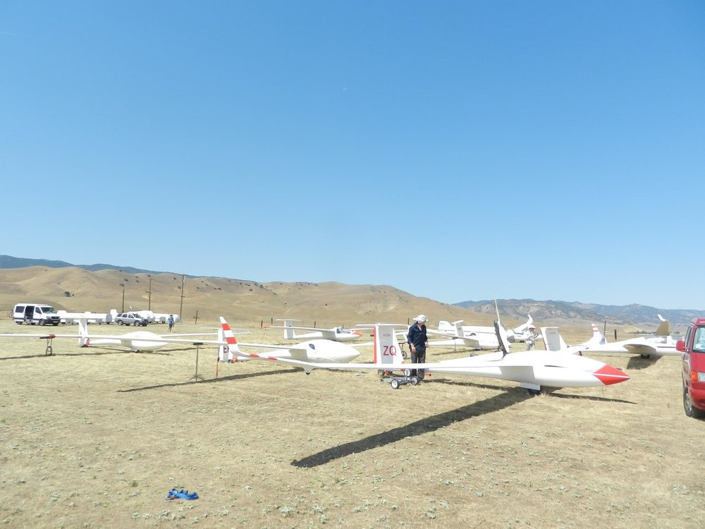 Ground prep at Panoche, 2016