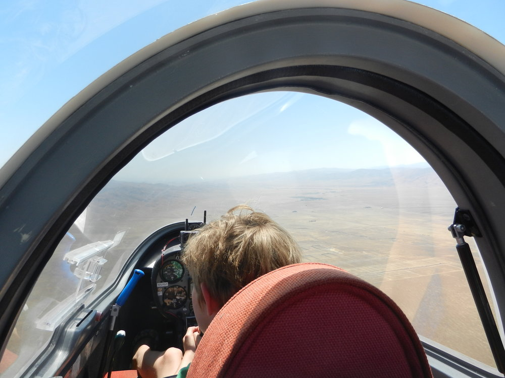 ...and then shows how he is a natural born aviator.  We expect to see him again.