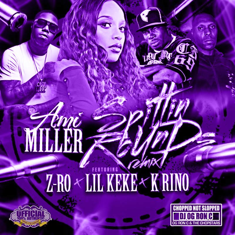 Ami Miller - Spittin Rounds Remix Cover Purple.jpg
