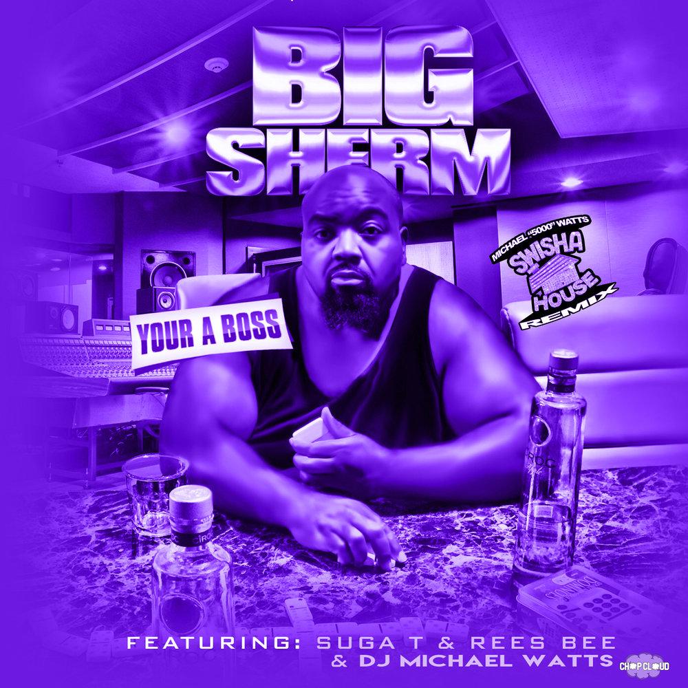 BigSherm - Your a boss cover purple.jpg