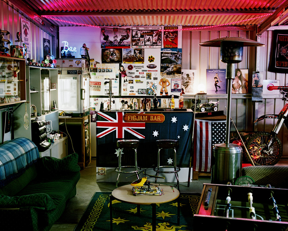 - Darren's Shed -  Medium:  Lambda print  Edition:  2/6    plus 2 artist's    D:  109 x 134 cm / 43 x 53 in (framed)