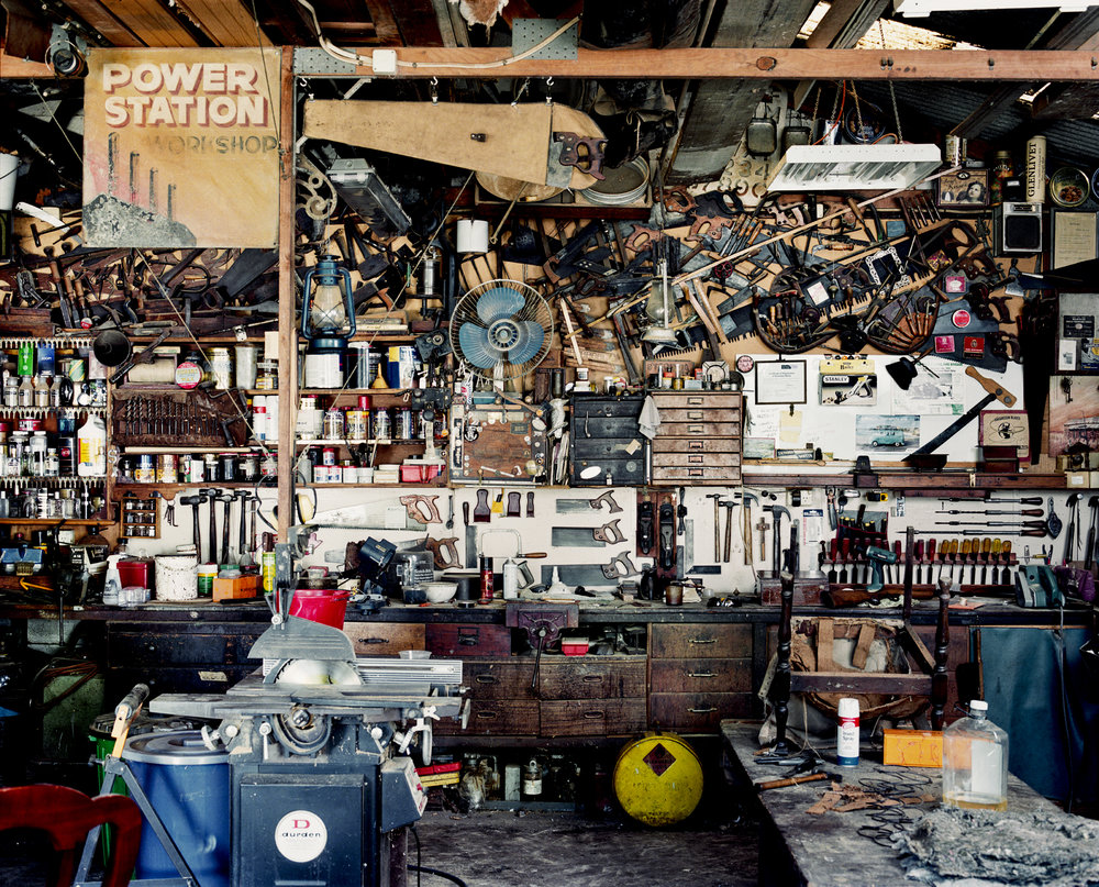 - Gerry's Shed -  Medium:  Lambda print  Edition:  2/6    plus 2 artist's    D:  109 x 134 cm / 43 x 53 in (framed)