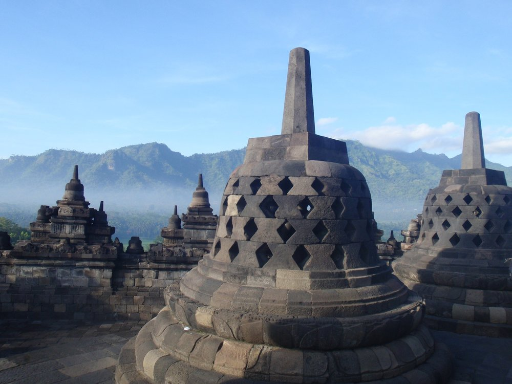 Explore Yogyakarta  - You'll embark on a 4 day, 3 night tour where you will visit Borobudur temple, climb the famous Mt Merapi and explore caves and cultural sites!
