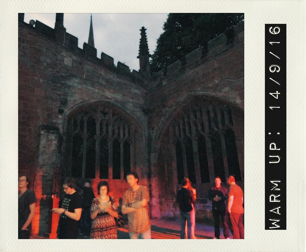 coventry cathedral ruins events