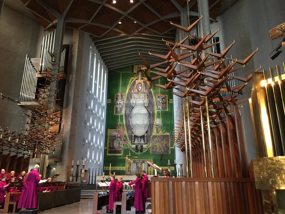 coventry cathedral graham sutherland tapestry