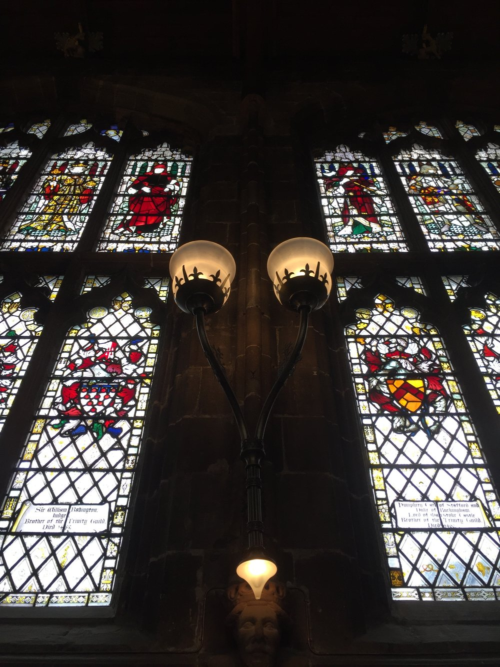 st marys guildhall coventry stained glass window
