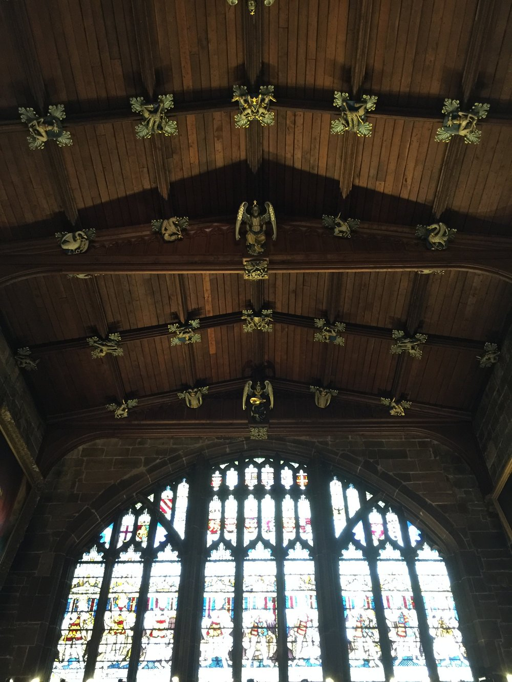 st marys guildhall coventry great hall roof detailing