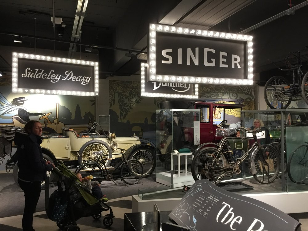 coventry transport museum displays