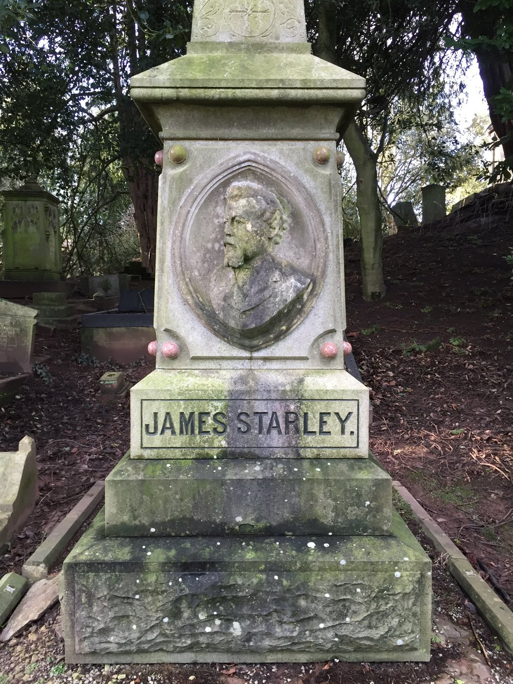 james starley paxtons arboretum coventry