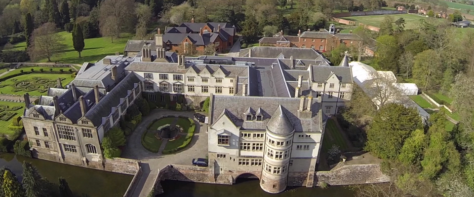aerial view coombe abbey coventry