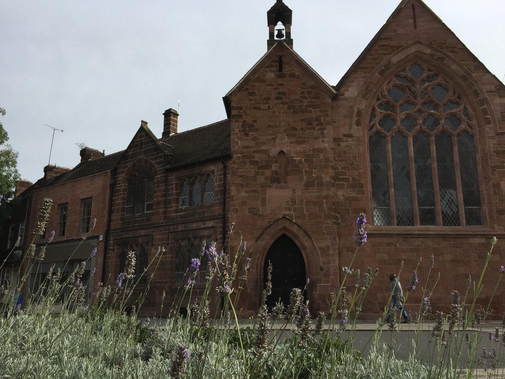 old grammar school grade I listed COVENTRY