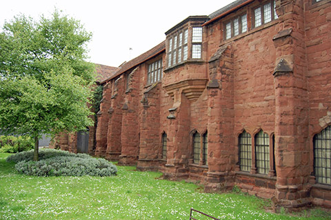 whitefriars monastery coventry