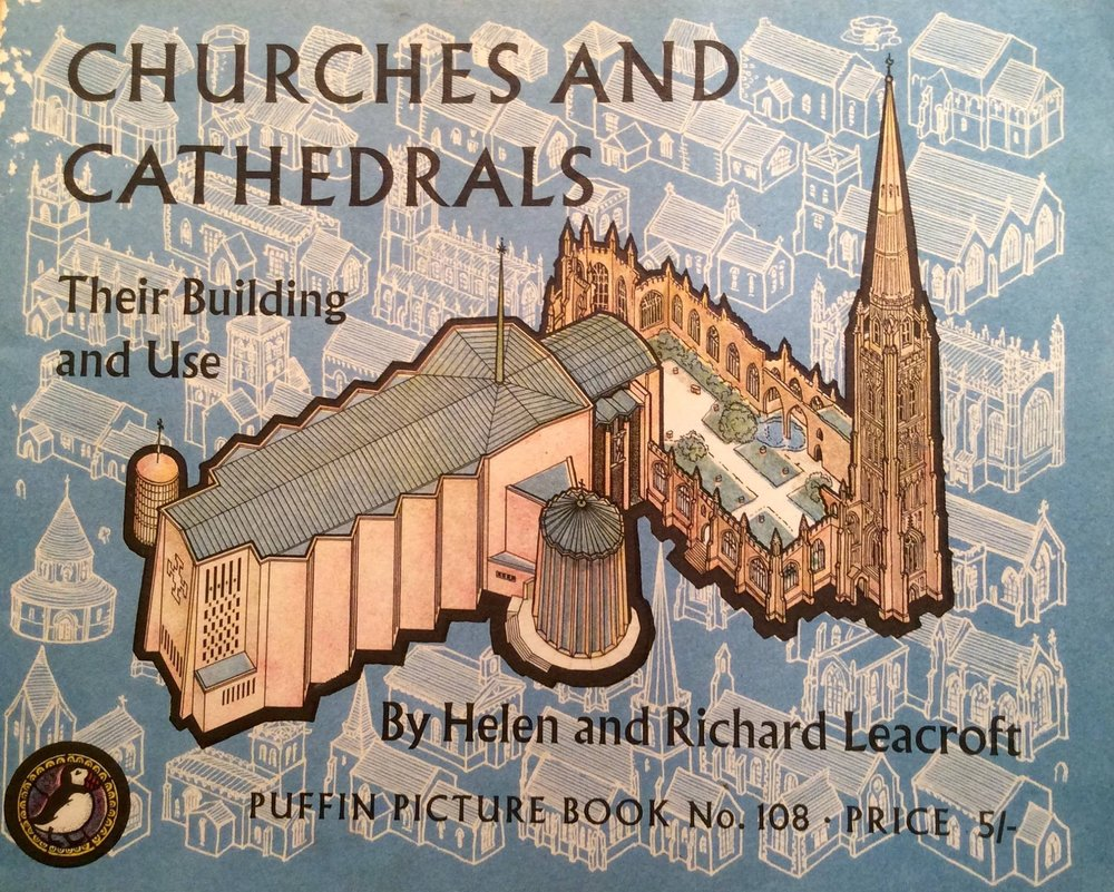 cathedrals and churches book coventry