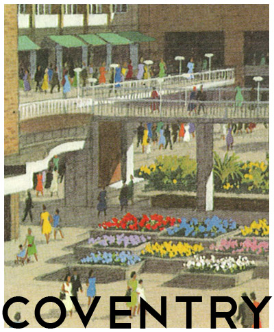 postcard of coventry